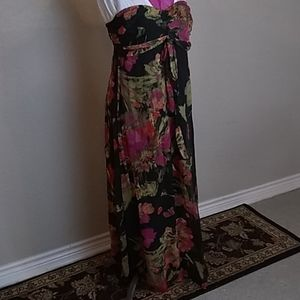 Xhilaration long ankle dress